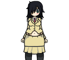 Request - WataMote by Cosmo-naut