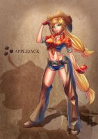 Applejack-Human by Takos000