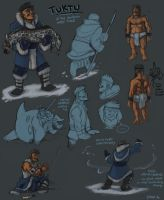 Tuktu of the Water Tribe by Kobb