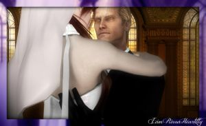 The Angel and The God (Wedding photo 3) by IamRinoaHeartilly