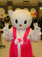 Hello Kitty by Blekee
