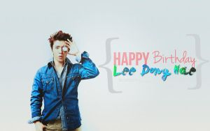 Happy Birthday Lee Dong Hae by NileyJoyrus14