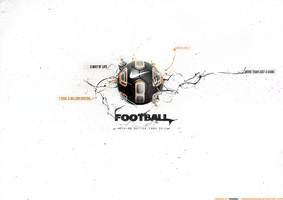 Football-Love it Live it by manishdesigns