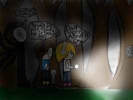[YouTubers]The Adventures of Pewds and Cry:Slender by LivyWolf