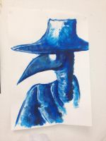 Plague Doctor Blue by YourPlagueDoctor