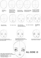 Onlooking Face Tutorial by EverBlueFae