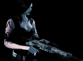 Heather Shepard - Tattoos and Sniping II by heather-shepard