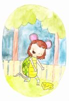 Costume a Day 18 - Mouse Turtle by ILoveBlueMoreThanYou