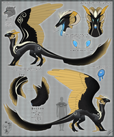 - Leviathan refsheet - by Lyvlet