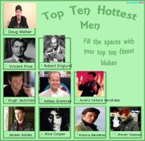 Top Ten Hottest Men by VotrePoison