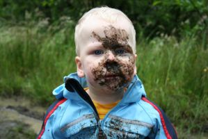 My first mud puddle by mccann