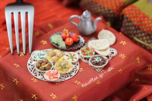 Miniature Food - Dubai by PetitPlat