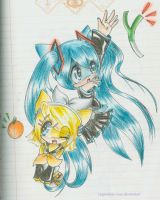 Vocaloid? xD by legendary-rose