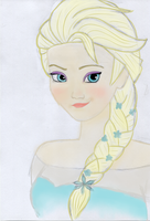 Elsa from Frozen by GenuineOwl