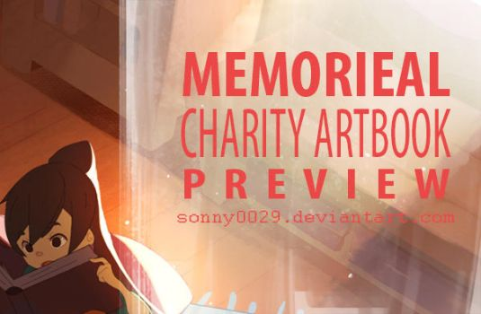 Memorieal Charity Artbook Preview by Sonny0029