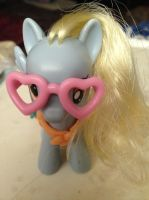 Hipster Derpy by MonstrousPegasister