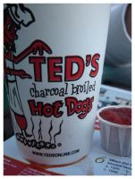 Ted's Hot Dogs by theonlysong