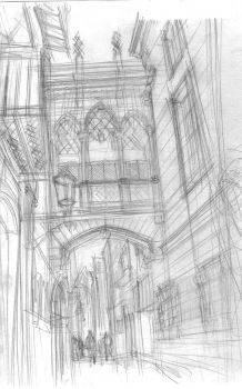 architectur practice from a pic of pinterest WIP by chamucaselamor69