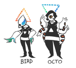 BIRD + OCTO by VCR-WOLFE