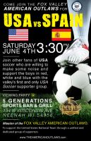 USA vs Spain by daverazordesign