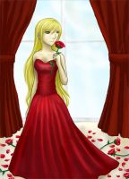 Rosalie - Shades of Red by Kirara17