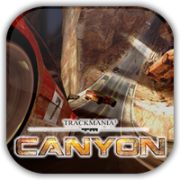 Trackmania 2 Canyon Game Icon by Wolfangraul