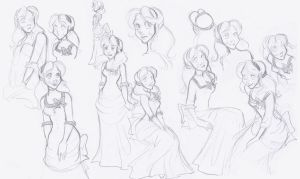 Alice and Onwards sketches by Tell-Me-Lies