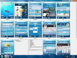 Windows 7 Theme W800i v.0.2 by Misaki2009