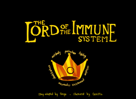 The Lord of the Immune System by onisuu