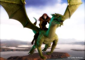 Leah and the Dragon by Radthorne