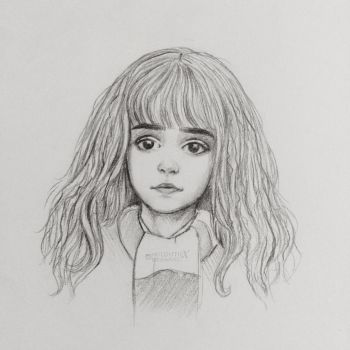 Hermione sketch  by miloutjexdrawing
