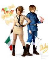 Italy x 2 by TechnoRanma