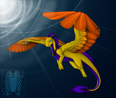 Comm- Goldenfire by Inemiset