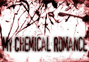 MCR Splatter Logo by Sixxer36-Punk