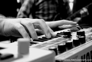 Musical Typing by allendoesphotos
