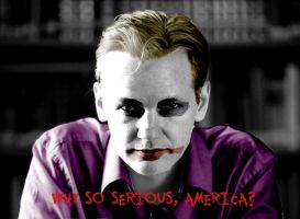 Julian Assange: Why So Serious by Whateveritakes
