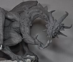 Demon Dragon WIP Design change by AntWatkins