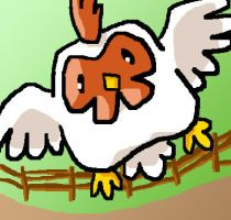 Harvest Moon Chicken by fuzzbuzz