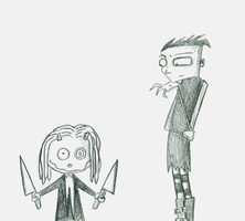 Nny and Lenore by Slash-Free-JCV