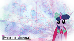 FiM: Twilight sparkle Wedding Wallpaper by M24Designs