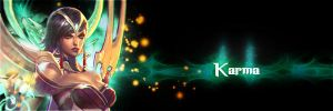 [Design signature banner] Karma by etershine