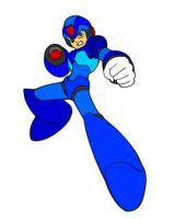 megaman x another draw by blazing-the-hedgehog