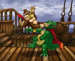 Gang-plank Galleon by Nepharus