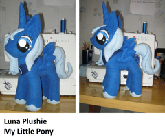 Luna My Little Pony Plush by PlushWorkshop