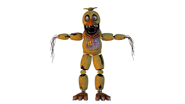 [SFM] Entry - Withered Chica by GreenRou