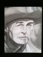 Randolph Scott by DEDDraws