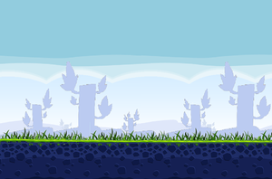 Angry Birds - Poached Eggs Theme I Background by AngryBirdsStuff