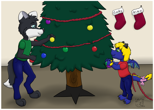 Christmas Card 2014 by CodyFops
