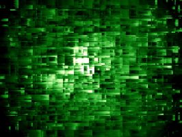 Abstract Green Wallpaper by Hartley1942
