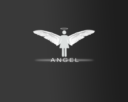 minimal angel by Froggy-224